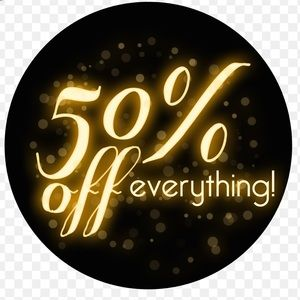 50% OFF 🔥 SALE ⭐️ Today TIL Friday 12/20 😍😍